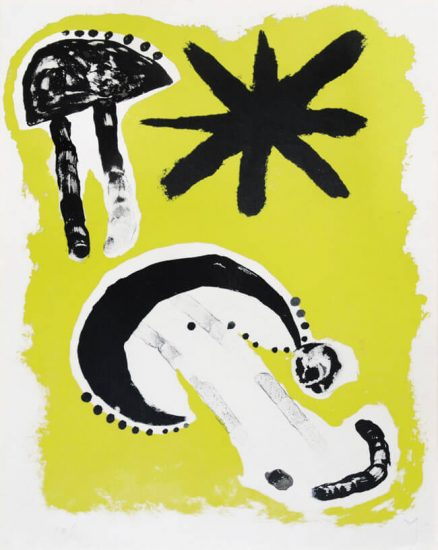 Joan Miró Lithograph, Astrology III, 1953
