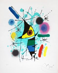 Joan Miró Lithograph, Work on Paper, Miró lithographs I, 1972