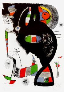 Joan Miró, 42 Rue Blomet, 1977