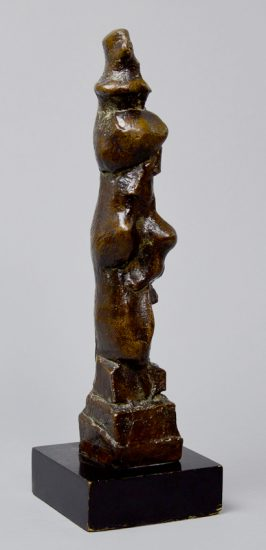 Henry Moore Sculpture, Upright Motive B, 1968