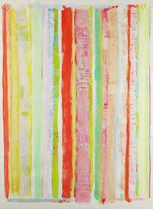 Robert Natkin, Untitled (Lines), 1969
