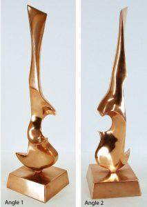 Leonardo Nierman Sculpture, Untitled