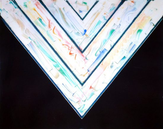 Kenneth Noland, Farallons #16, 1985