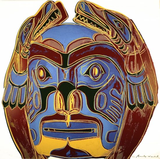 Northwest Coast Mask 1986