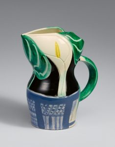 Pablo Picasso Ceramic, Pichet aux Arums (Pitcher with Arums), 1953