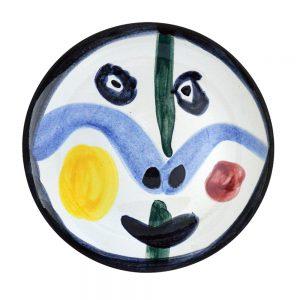 Pablo Picasso Ceramic, Visage no. 0 (Face no. 0), 1963