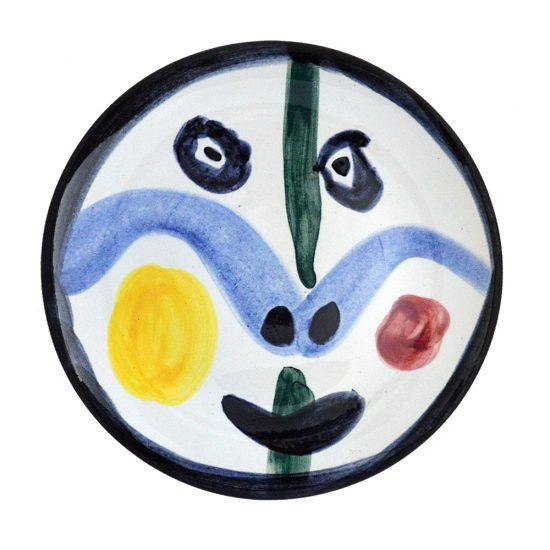 Pablo Picasso Ceramic, Visage no. 0 (Face no. 0), 1963 A.R. 458