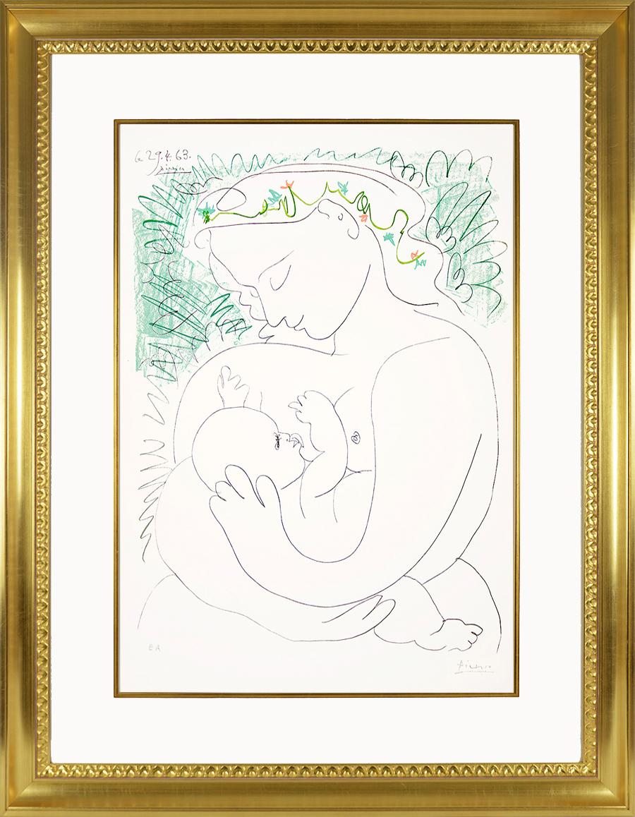 Pablo Picasso, Grande Maternité (Grand Maternity), 1963, Lithograph