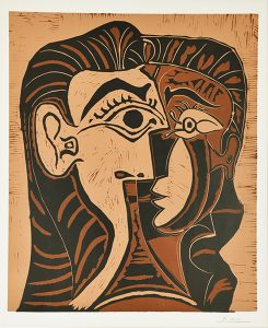 Pablo Picasso None/Unknown, Pablo Picasso Tête de Femme (Head of a Woman), 1962