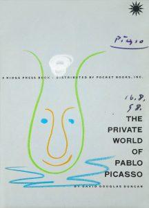 Pablo Picasso Drawing, Tête de Pitre (Clown Head), 1958