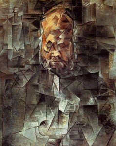 Pablo Picasso, Portrait of Ambroise Vollard, 1910