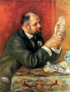 Pierre Auguste Renoir, Portrait of Ambroise Vollard, 1908