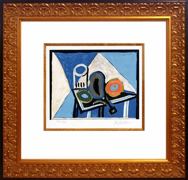Pablo Picasso, Nature morte à l'aubergine (Still Life ...