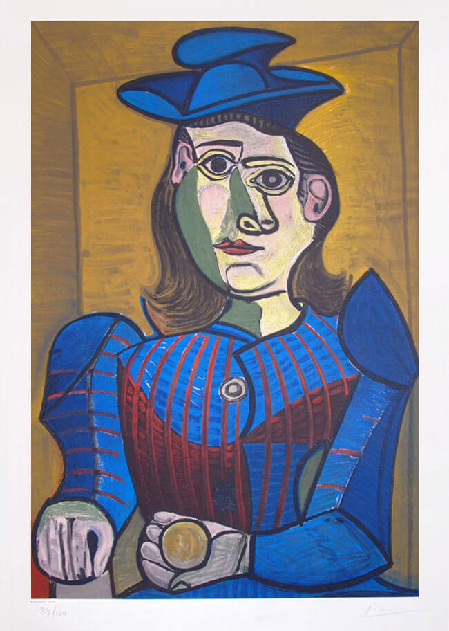 Pablo Picasso, Femme assise (Seated Woman), 1955 ...