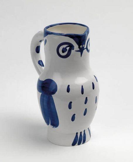 Pablo Picasso Artwork, Hibou (Owl), 1954 A.R. 253