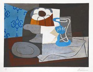 Pablo Picasso Collotype, Nature Morte (Still Life), c. 1960
