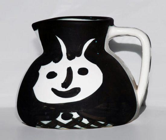 Pablo Picasso Artwork, Madoura Vase, Heads, 1956