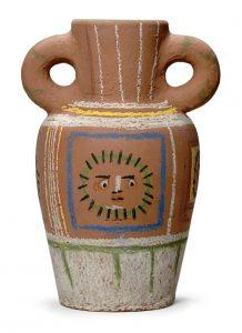 Pablo Picasso Ceramic, Vase, 1953