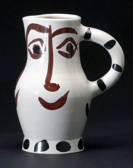 Pablo Picasso Artwork, Visage, 1959