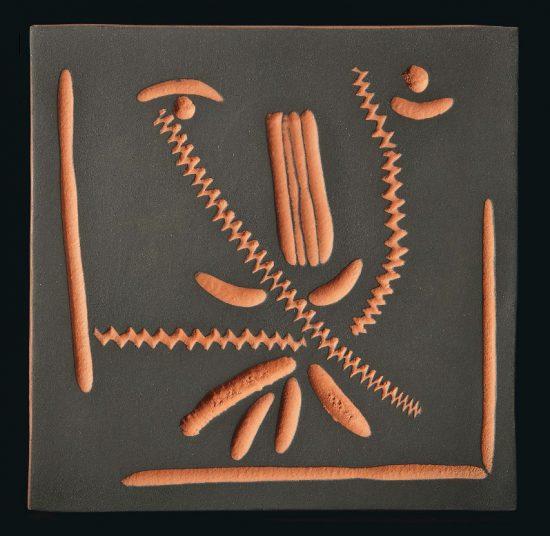 Pablo Picasso Ceramic, Face, 1968 -1969