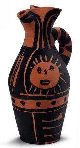 Pablo Picasso Ceramic, Yan Sun (Yan Soleil), 1963