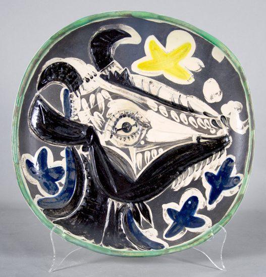 Pablo Picasso Ceramic, Goat,1952