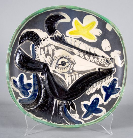 Pablo Picasso Lithograph, Goat,1952 A.R. 151