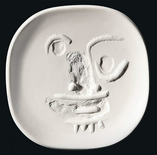 Pablo Picasso Artwork, Round-Eyed Face, 1960