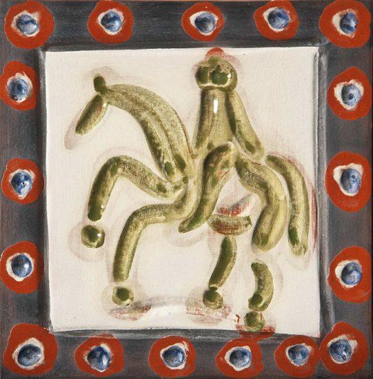 Pablo Picasso Artwork, Cavalier and Horse, 1968-1969 A.R. 594