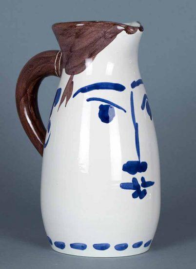 Pablo Picasso Ceramic, Visage, 1959