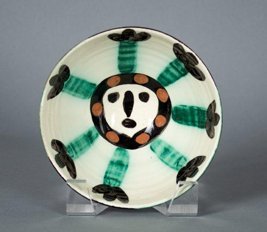 Pablo Picasso Ceramic, Visage (Face), 1955 A.R. 290