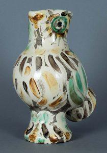 Pablo Picasso Ceramic, Chouette (Wood-Owl), 1969