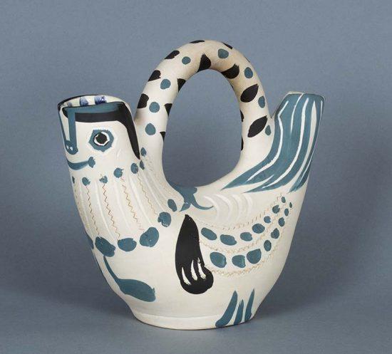 Pablo Picasso Ceramic, Pichet espagnole (Spanish Pitcher), 1954
