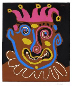 Pablo Picasso Linocut, Le Vieux Roi (The Old King), 1963