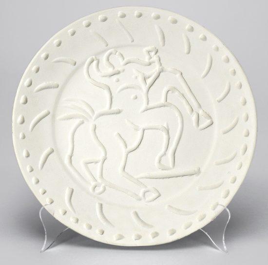 Pablo Picasso Ceramic, Centaur, 1956 A.R. 338