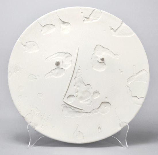 Pablo Picasso Ceramic, Visage (Face), 1965