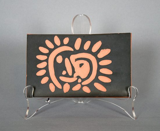 Pablo Picasso Ceramic, Petit soleil (Little Sun), 1968-1969 A.R. 547