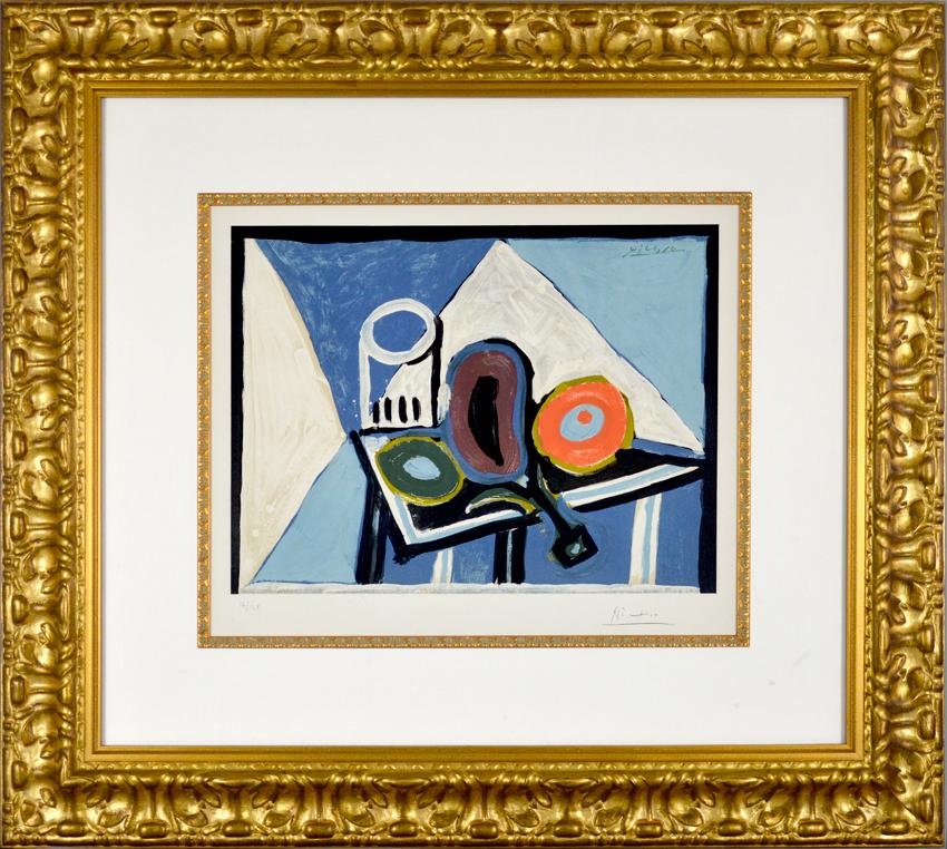 Pablo Picasso, Nature morte à l\'aubergine (Still Life with Eggplant ...