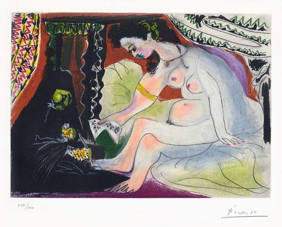 Pablo Picasso Aquatint, Bethsabée (Bethsheba), 1966