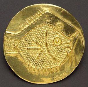 Pablo Picasso Lithograph, Fish, 1967