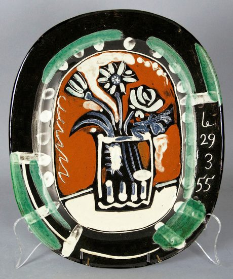 Pablo Picasso Ceramic, Bouquet (Bunch), 1955 A.R. 254