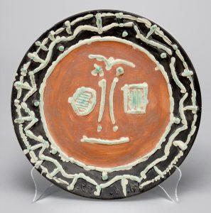 Pablo Picasso Ceramic, Visage en gros relief (Face in Thick Relief), 1959