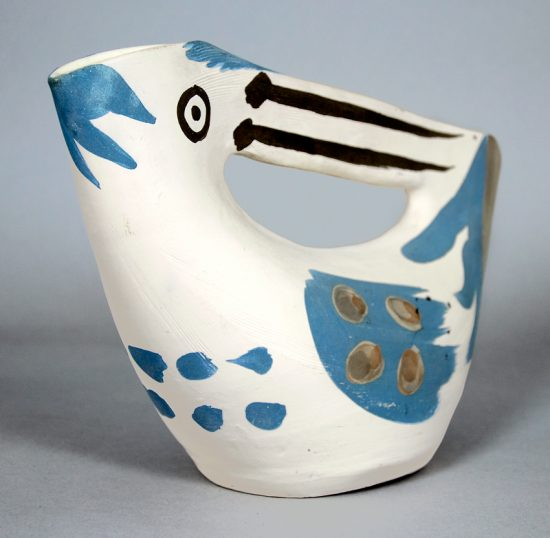Pablo Picasso Artwork, Pichet anse prise (Seized Handled Pitcher), 1953
