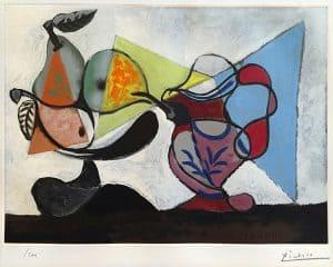 Pablo Picasso Aquatint, Nature Morte (Still Life), 1960