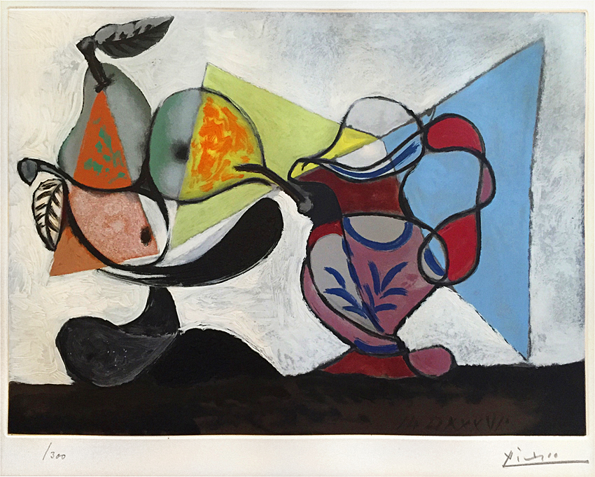 Pablo Picasso, Nature Morte (Still Life), 1960, Aquatint