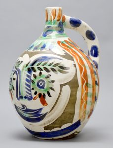 Pablo Picasso Ceramic, Visage aux yeux rieurs (Laughing Eyed Face), 1969