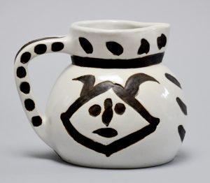 Pablo Picasso Ceramic, Tetes (Heads), 1956