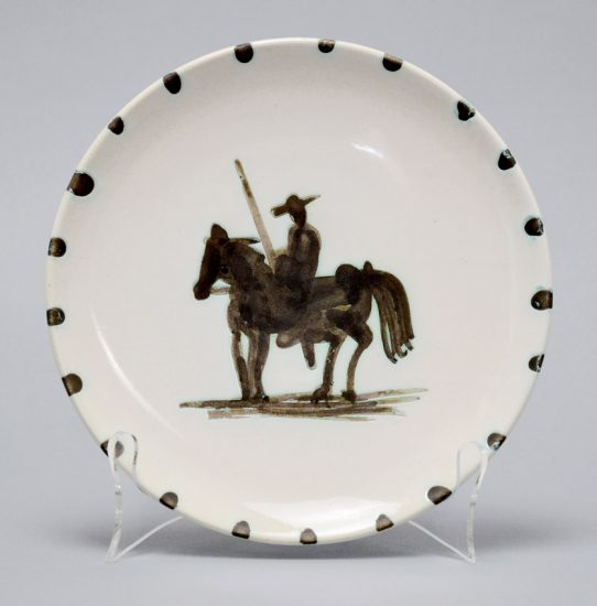 Pablo Picasso Ceramic, Picador, 1952