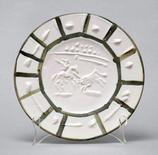 Pablo Picasso Ceramic, Picador, 1953