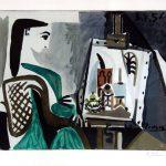 Pablo Picasso Lithograph, Jacqueline, 1956